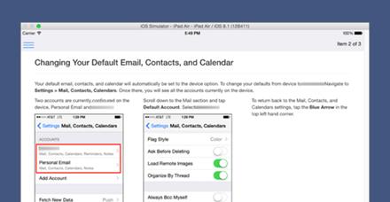 FAQ Enterprise iOS App